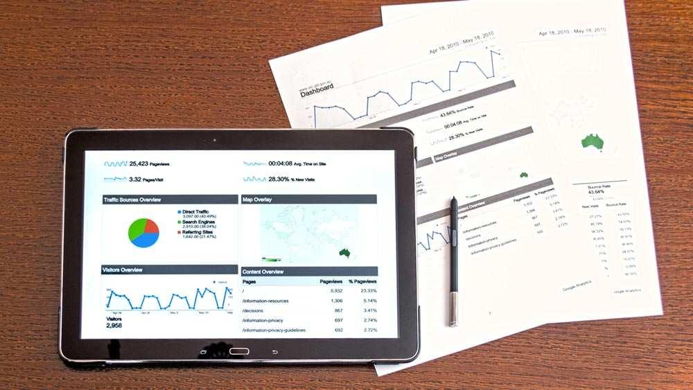Tracking Metrics From Google Analytics
